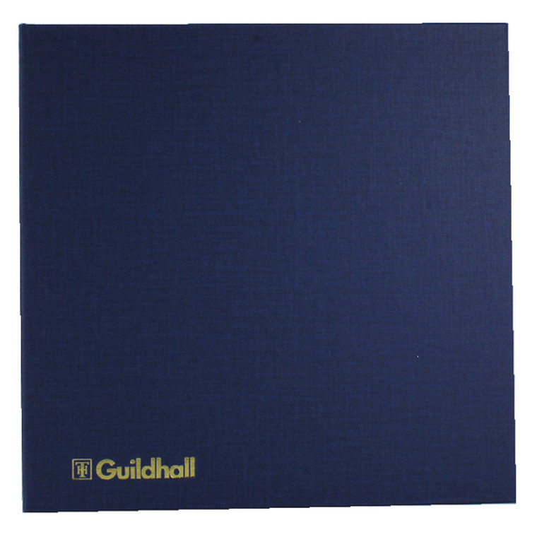 GH5110 Exacompta Guildhall Account Book 80 Pages 10 Cash Columns 51 10 1330