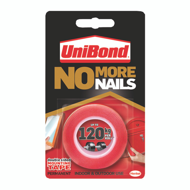 HK05128 Unibond No More Nails Ultra Strong Roll Permanent 19mmx1 5m 781746