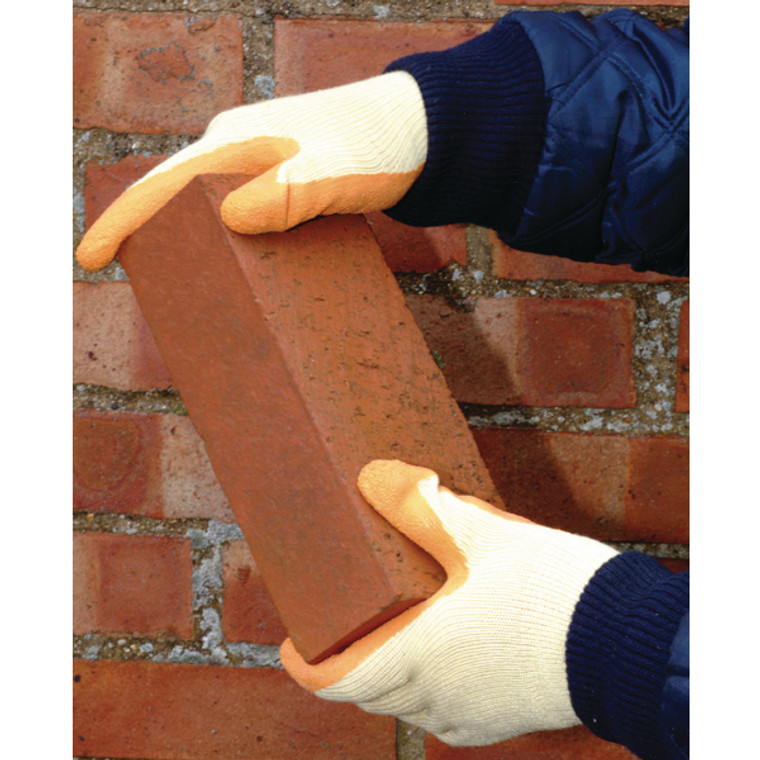 JS03364 Polyco Matrix S Grip Gloves Size 9 Orange Superb grip in wet or dry contidtions 503-MAT