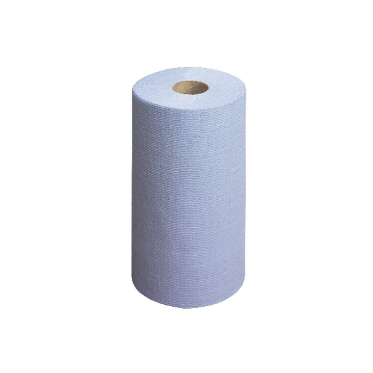 KC20669 Wypall L20 Wiper Couch Roll Blue 140 Sheets Pack 6 7414