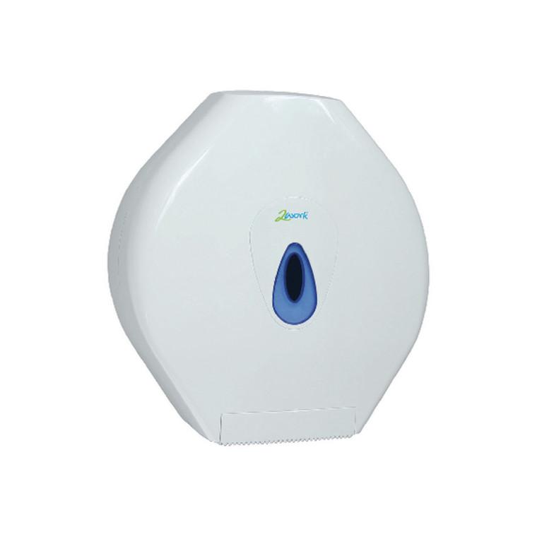CT34025 2Work Standard Jumbo Toilet Roll Dispenser CT34025