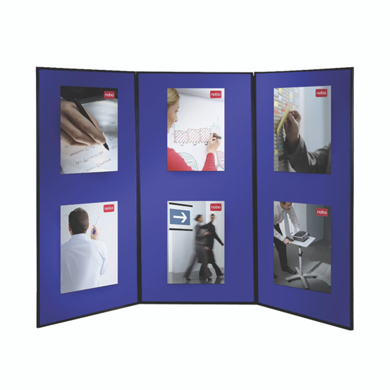 NB15073 Nobo Lightweight Showboard Extra 3 Panel Dimensions 900 x 1800mm 1901710