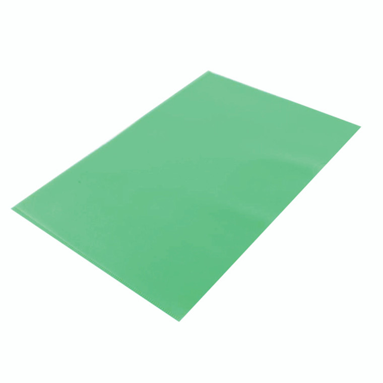 KF01488 Q-Connect Cut FlushFolder A4 Green Pack 100 KF01488