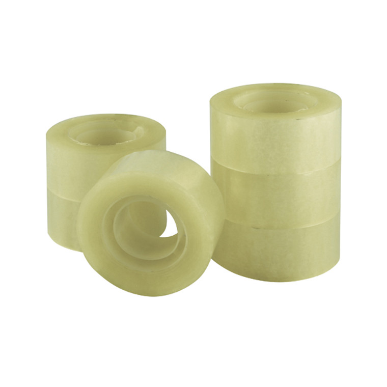 KF27014 Q-Connect Adhesive Tape 24mm x 33m Pack 6 KF27014