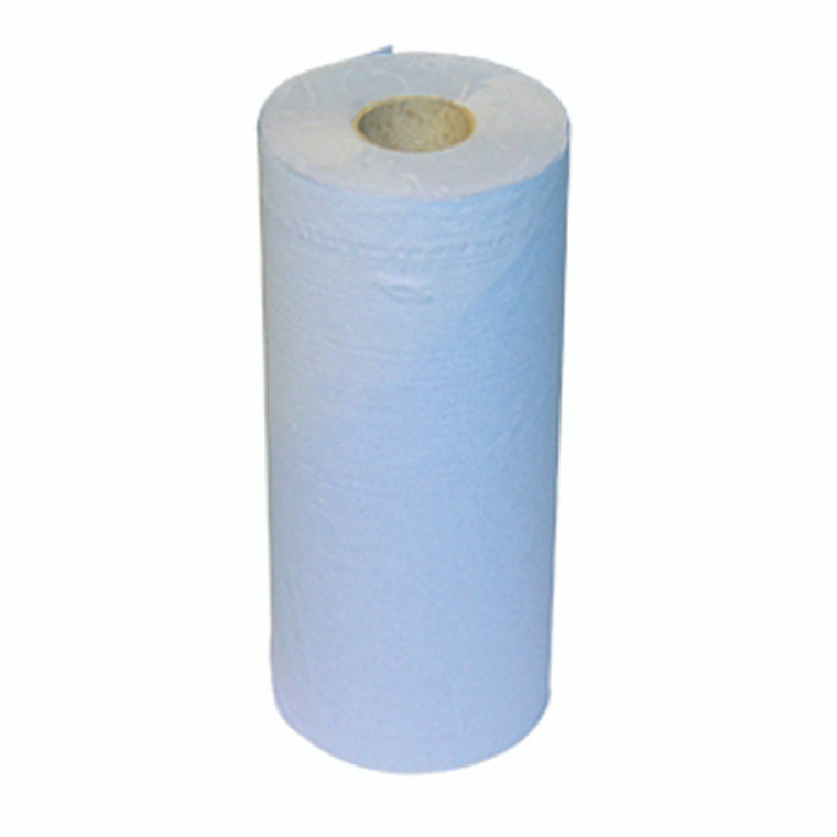KF03807 2Work 2-Ply Hygiene Roll 20 Inch Blue Pack 12 F03807