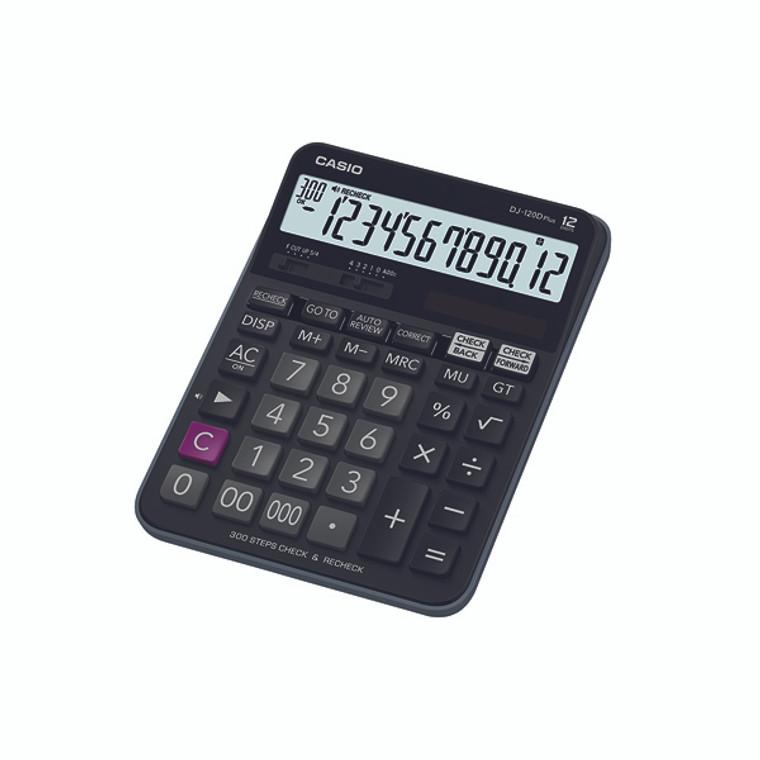 CS18596 Casio Desktop Calculator DJ-120D PLUS