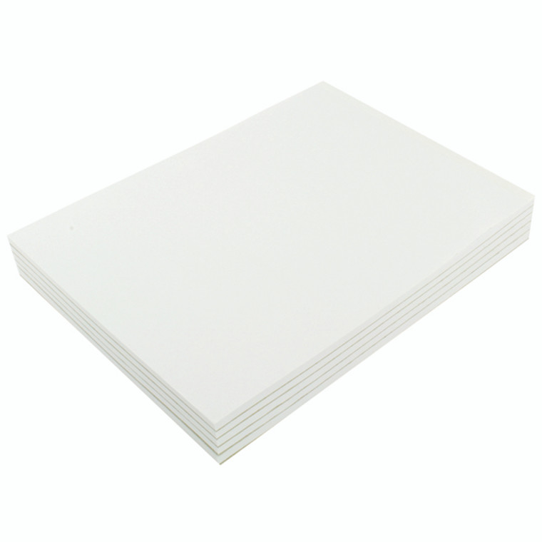 KF32007 Q-Connect Plain Board Back Memo Pad 160 Pages A4 Pack 10 KF32007