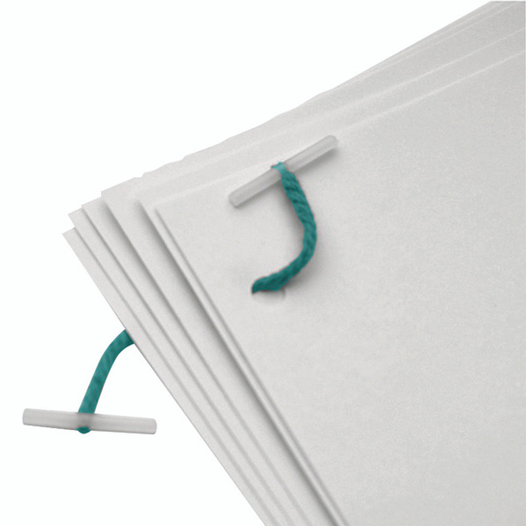 KF04570 Q-Connect Plastic Treasury Tag 25mm Pack 100 KF04570