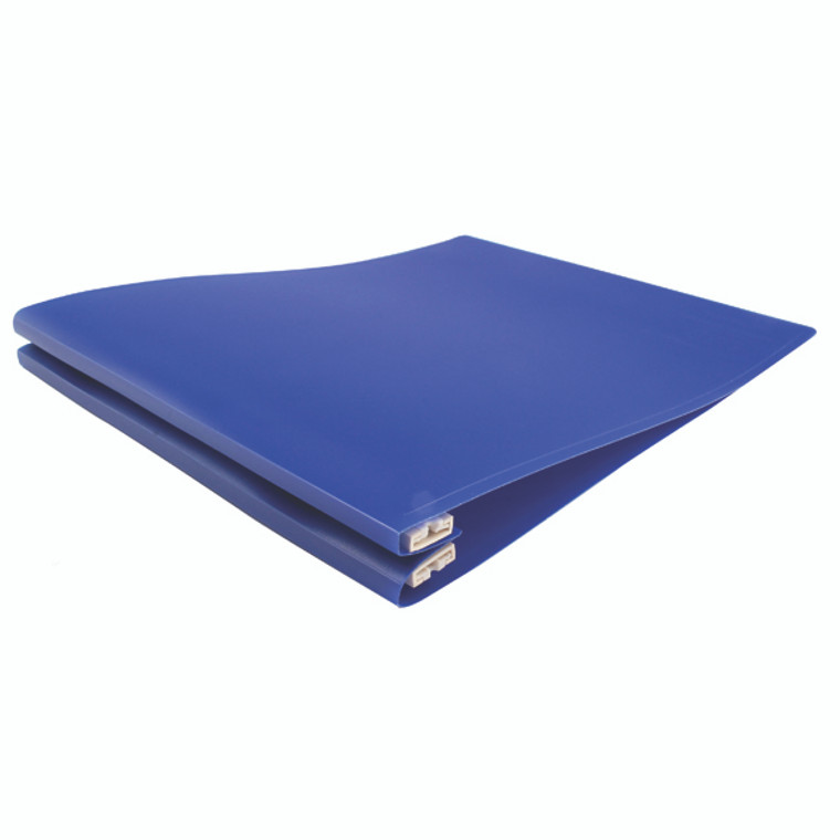 KF11018 Q-Connect Printout Binder 260x305mm Blue Pack 6 KF11018