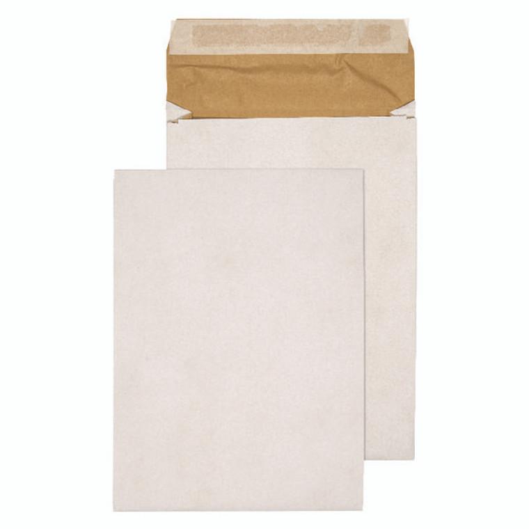 KF3533 Q-Connect Padded Gusset Envelopes E4 400x280x50mm Peel Seal White Pack 100 KF3533