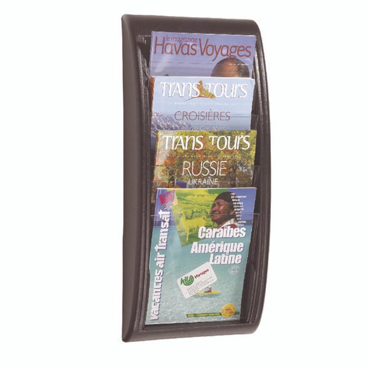 MF20367 Fast Paper Quick Fit System Wall Display 4 x A4 Black F406101