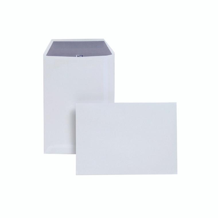 JDD23770 Plus Fabric C5 Envelopes Self Seal 120gsm White Pack 250 D23770