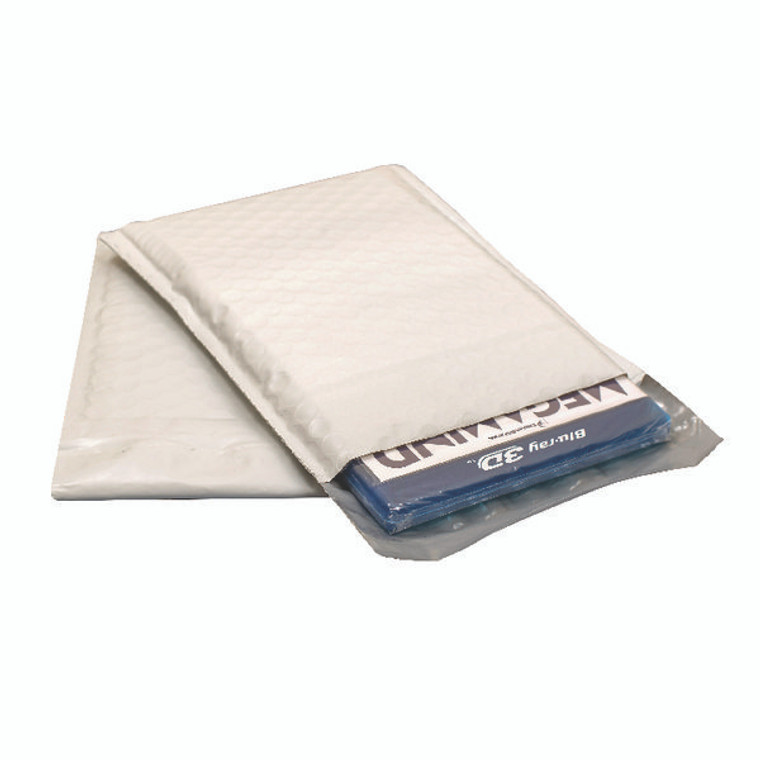 PB11124 Ampac Envelopes 170x245mm Extra Strong Polythene Padded Bubble Lined Opaque Pack 100 KSB-2