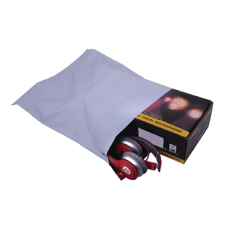 PB11132 GoSecure Envelope Lightweight Polythene 335x430mm Opaque Pack 100 PB11132