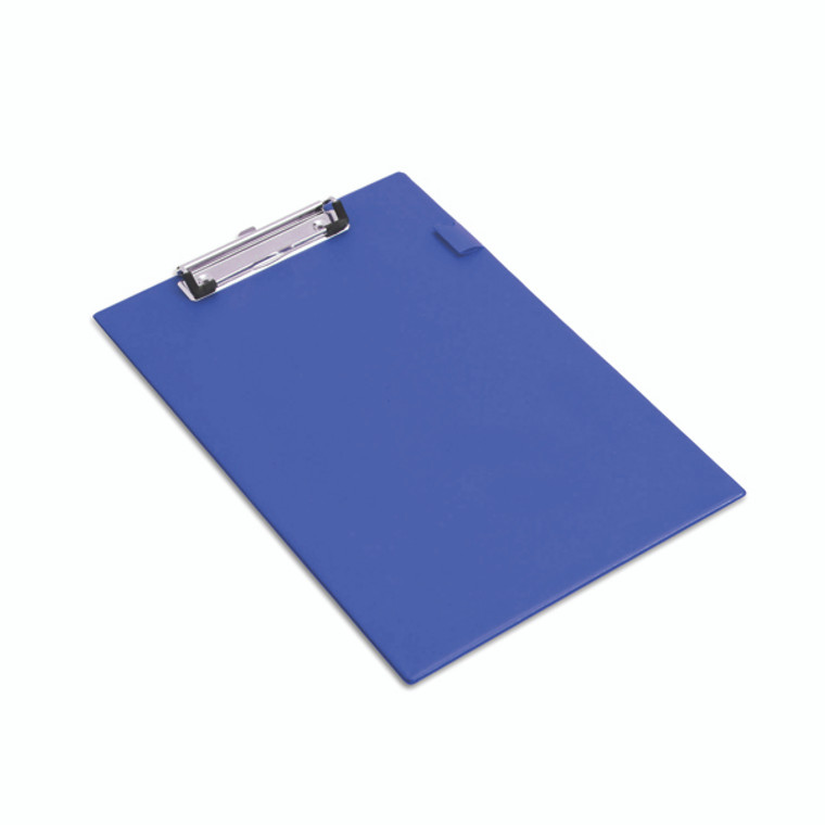 HT03082 Rapesco Blue Foolscap Standard Clipboard Convenient pen holder hanging hole VSTCBOL3