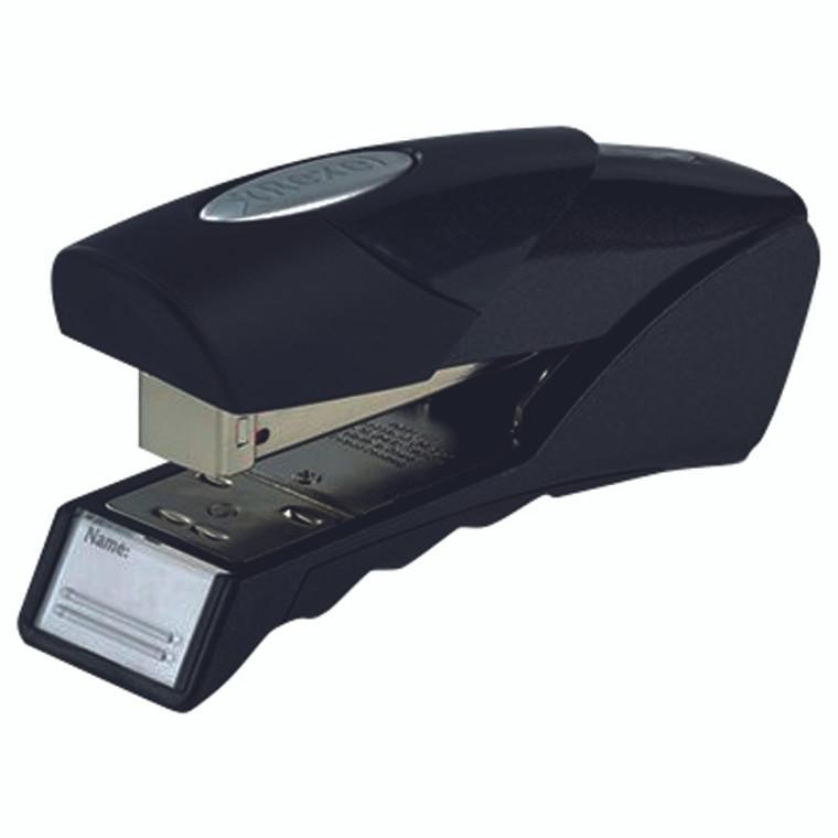 RX04763 Rexel Gazelle Half Strip Stapler Black 2100010
