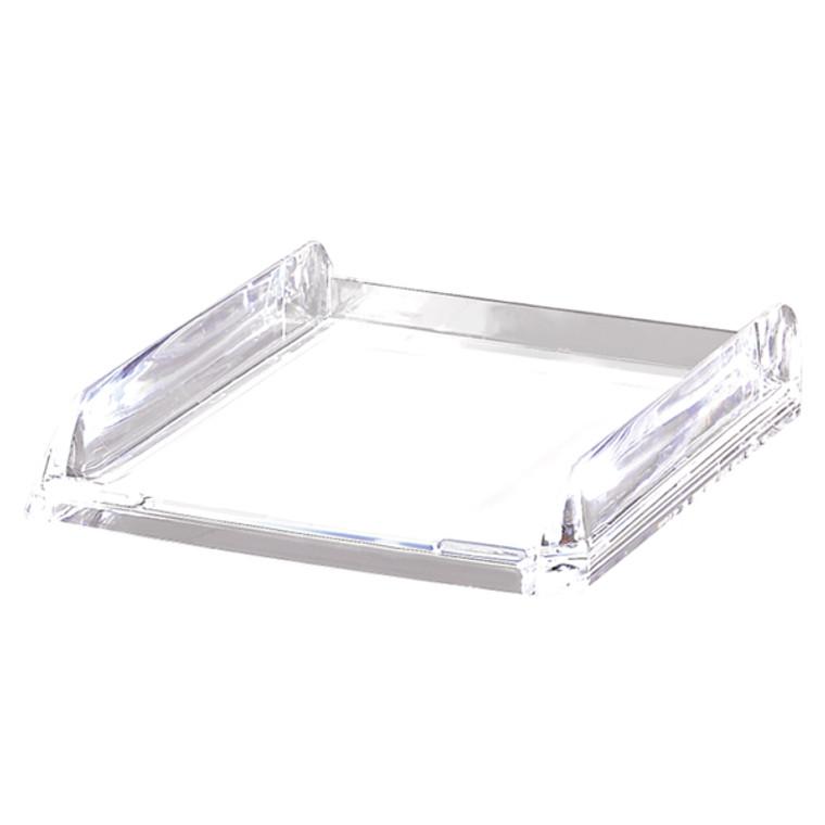RX17640 Rexel Nimbus Acrylic Letter Tray Clear 2101504