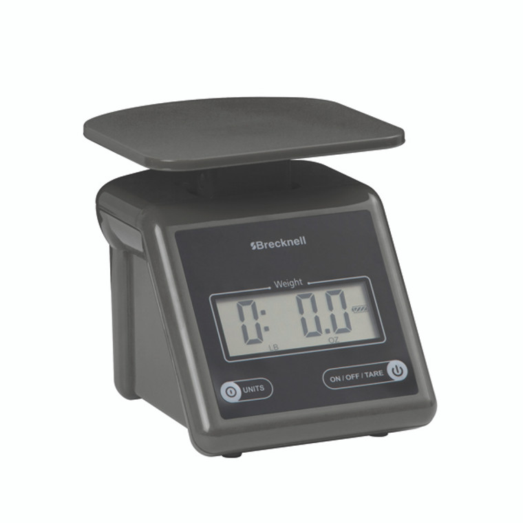 SL00525 Salter Grey Compact Postal Scale Displays weight in ib oz kg grams max weight 3 2kg PS7