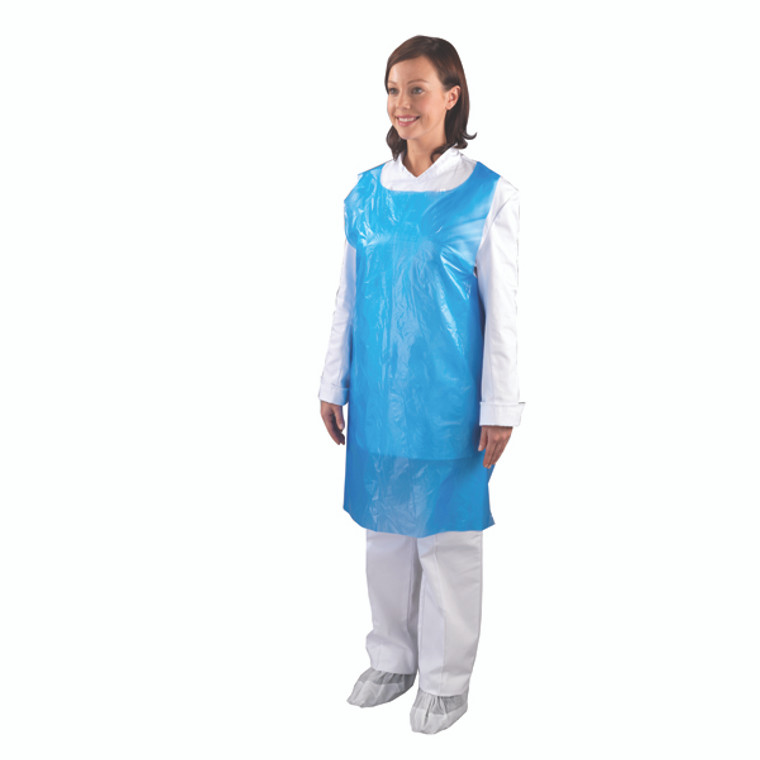 HEA01101 Shield Disposable Aprons on a Roll Blue Pack 1000 A2B R