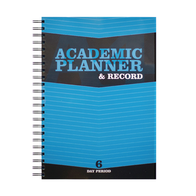 SV43518 Silvine Academic Planner Record A4 Blue Grade section 40 names EX202