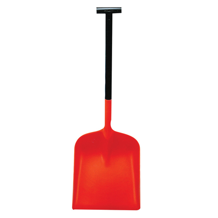 WE08801 Orange Snowburner Large Blade T-Grip Snow Shovel 317597