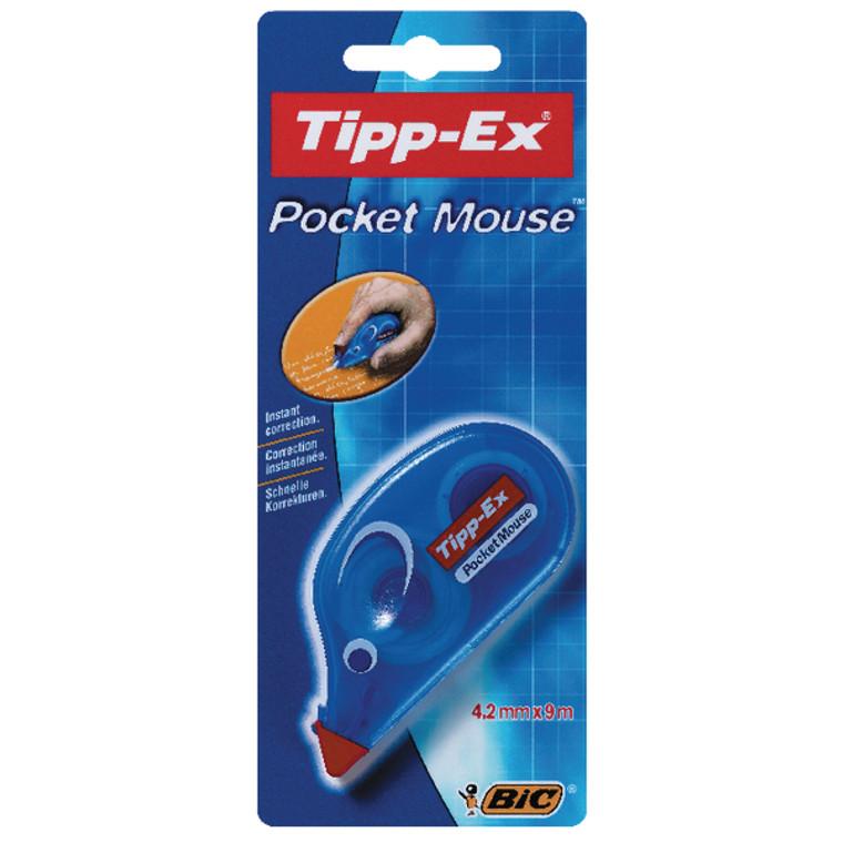 TX20790 Tipp-Ex Pocket Mouse Correction Tape Blister Pack 10 820790