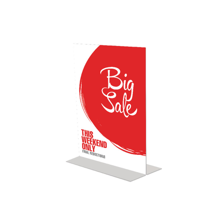 DF10078 Announce Stand Up Sign Holder A6 DF10078