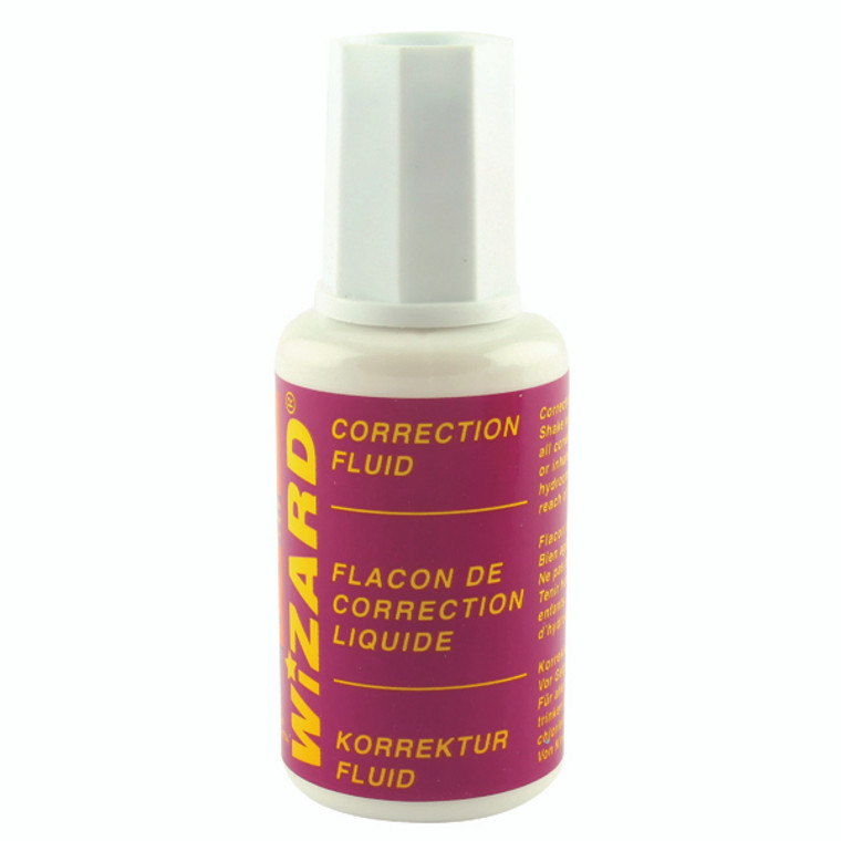 WX10507 Correction Fluid 20ml Pack 10 WX10507