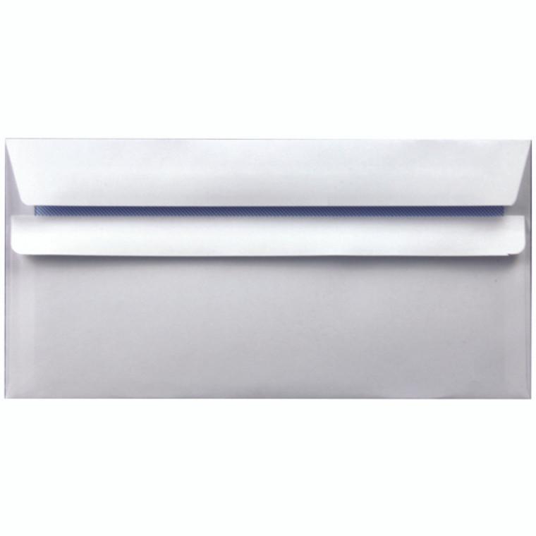 WX3480 Envelope DL 90gsm Self Seal White Pack 1000 WX3480
