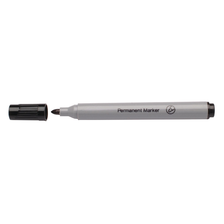WX26045A Black Permanent Bullet Tip Marker Pack 10 WX26045A