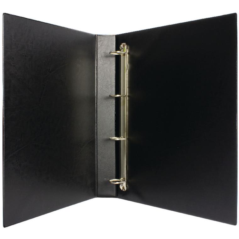 WX01328 Black 25mm 4D Presentation Binder Pack 10 WX01328