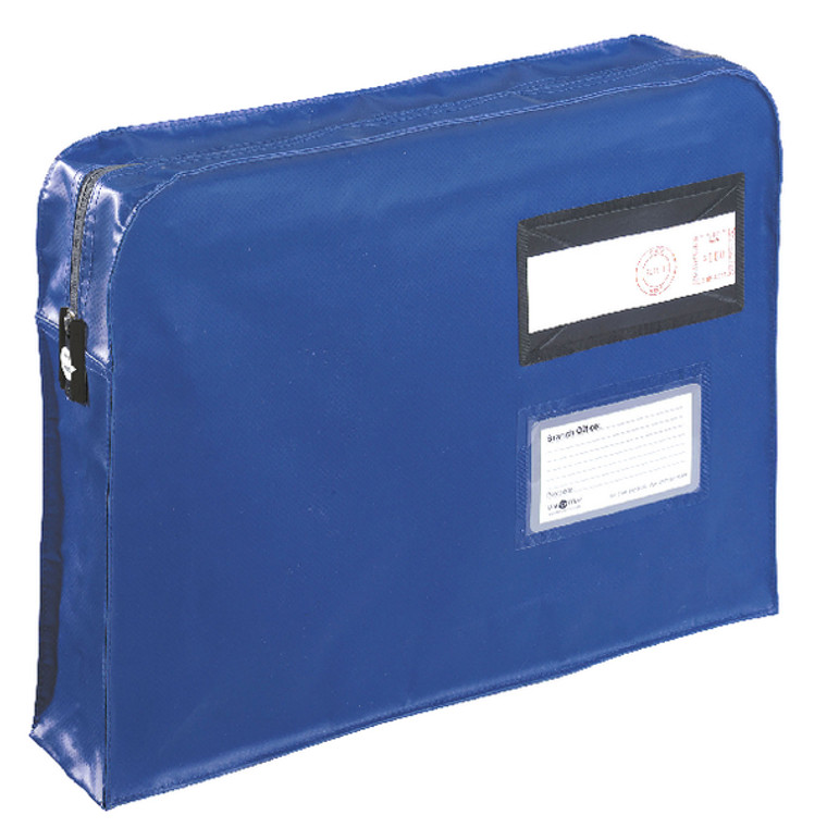 VP99671 GoSecure Gusset Mailing Pouch 457x330x76mm Blue VFT3