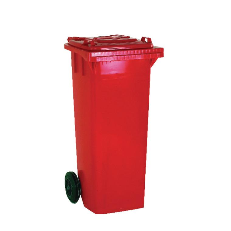 SBY14061 Wheelie Bin 240 Litre Red W580 x D740 x H1070mm 331188