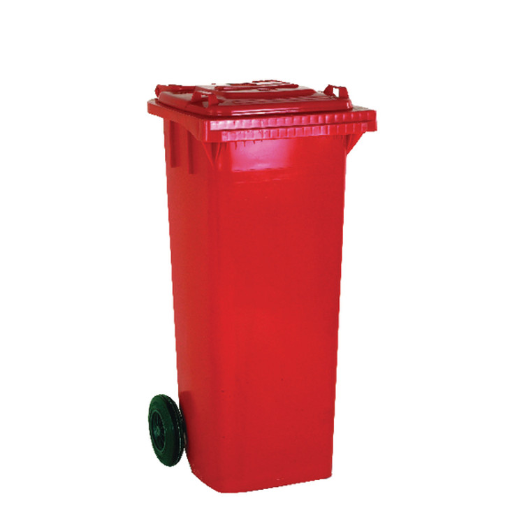 SBY14066 Wheelie Bin 360 Litre Red W620 x D860 x H1070mm 331226