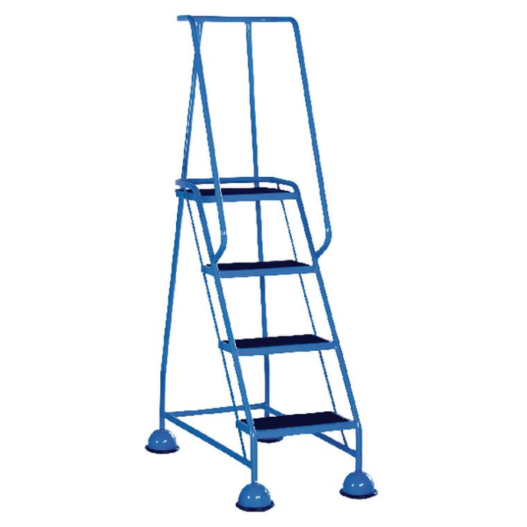 SBY29296 Light Blue 4 Tread Step Ladder Load capacity 125kg 385138