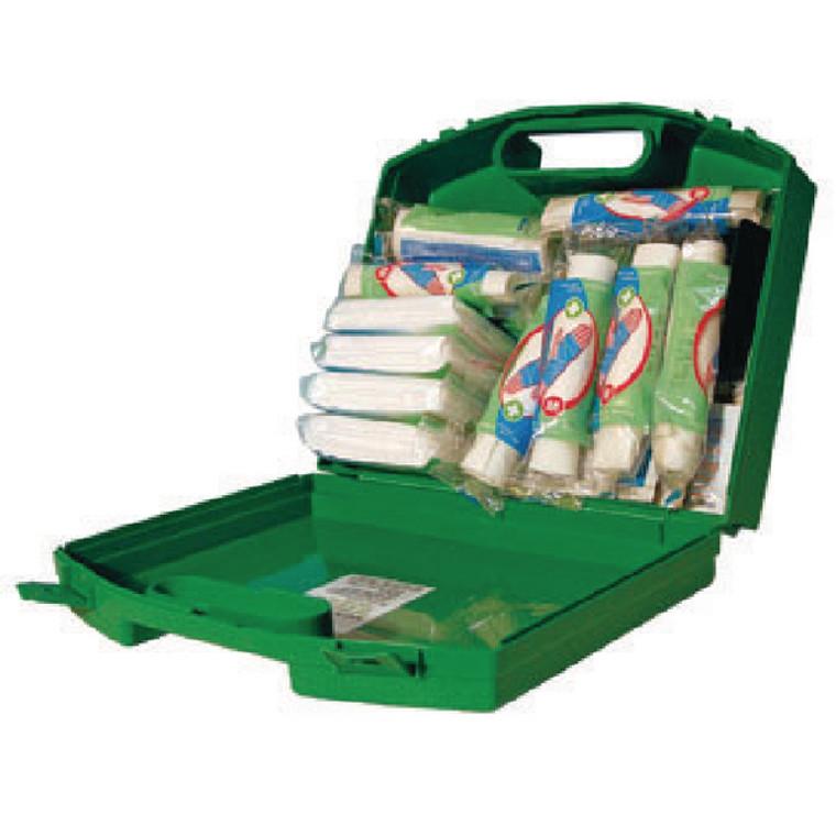 WAC10688 Wallace Cameron Green Box 20 Person First Aid Kit 1002279