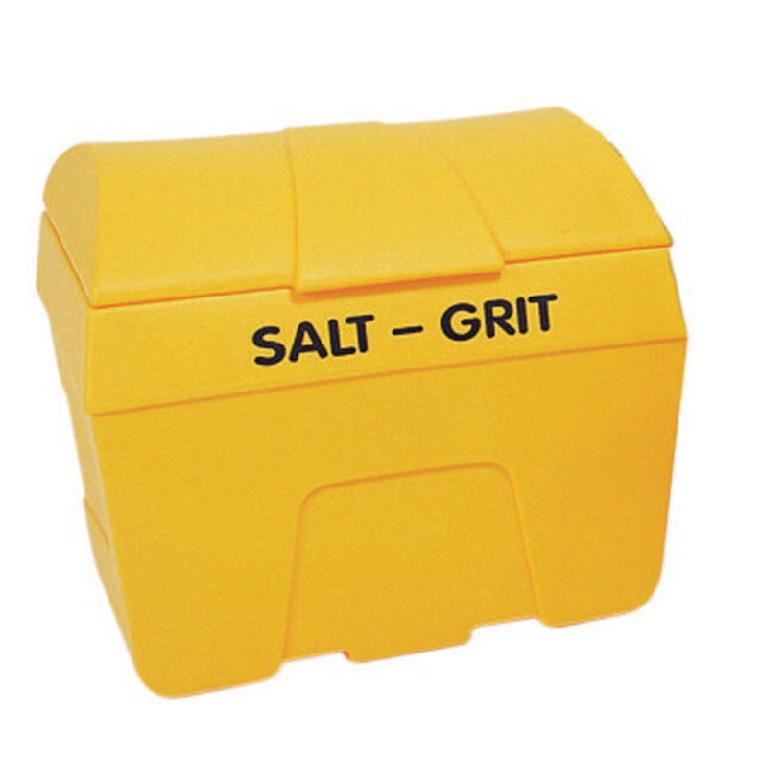 WE08643 Winter Salt Grit Bin No Hopper 400 Litre Yellow 317066