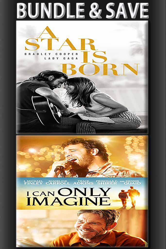 A Star Is Born + I can Only Imagine BUNDLE