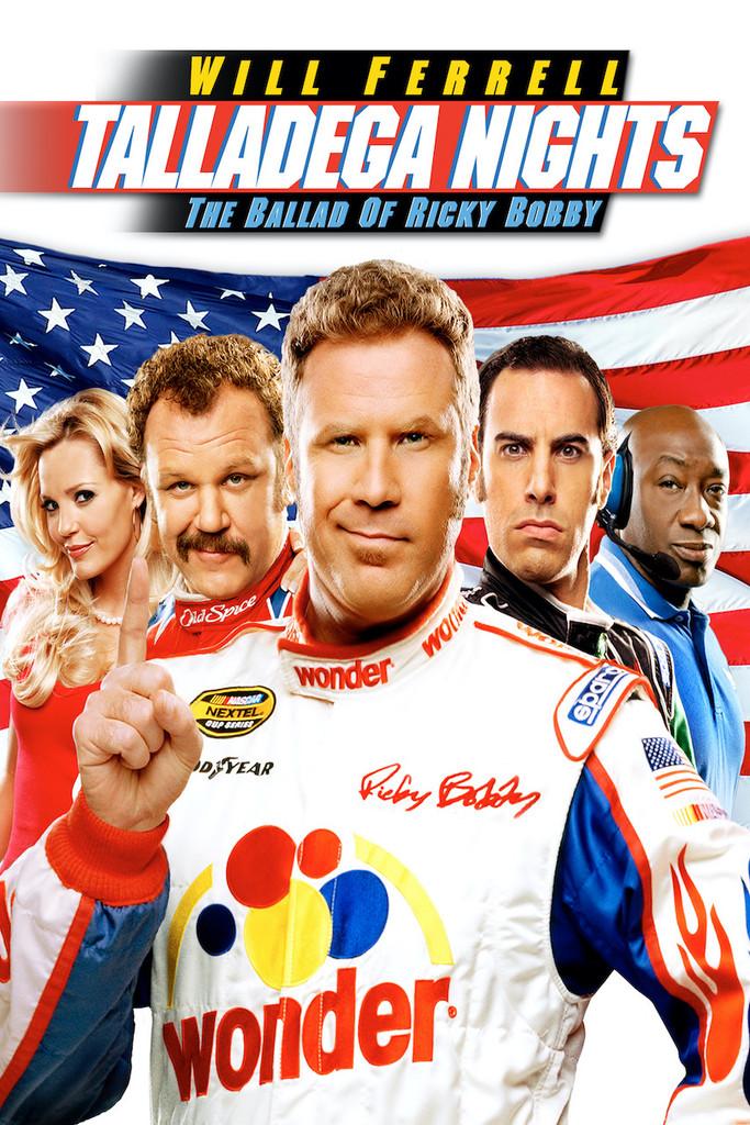 Talladega Nights: The Ballad of Ricky Bobby [Vudu Instawatch] Ports To Movies Anywhere & iTunes