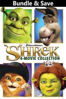 Shrek: The Whole Story 4-Movie BUNDLE