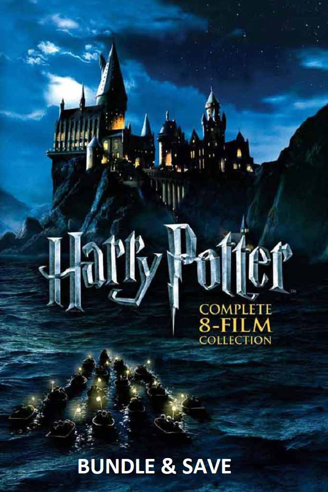 Harry Potter 8 Film Collection [Movies Anywhere HD, Vudu HD or iTunes HD  via Movies Anyhwere] Read Details