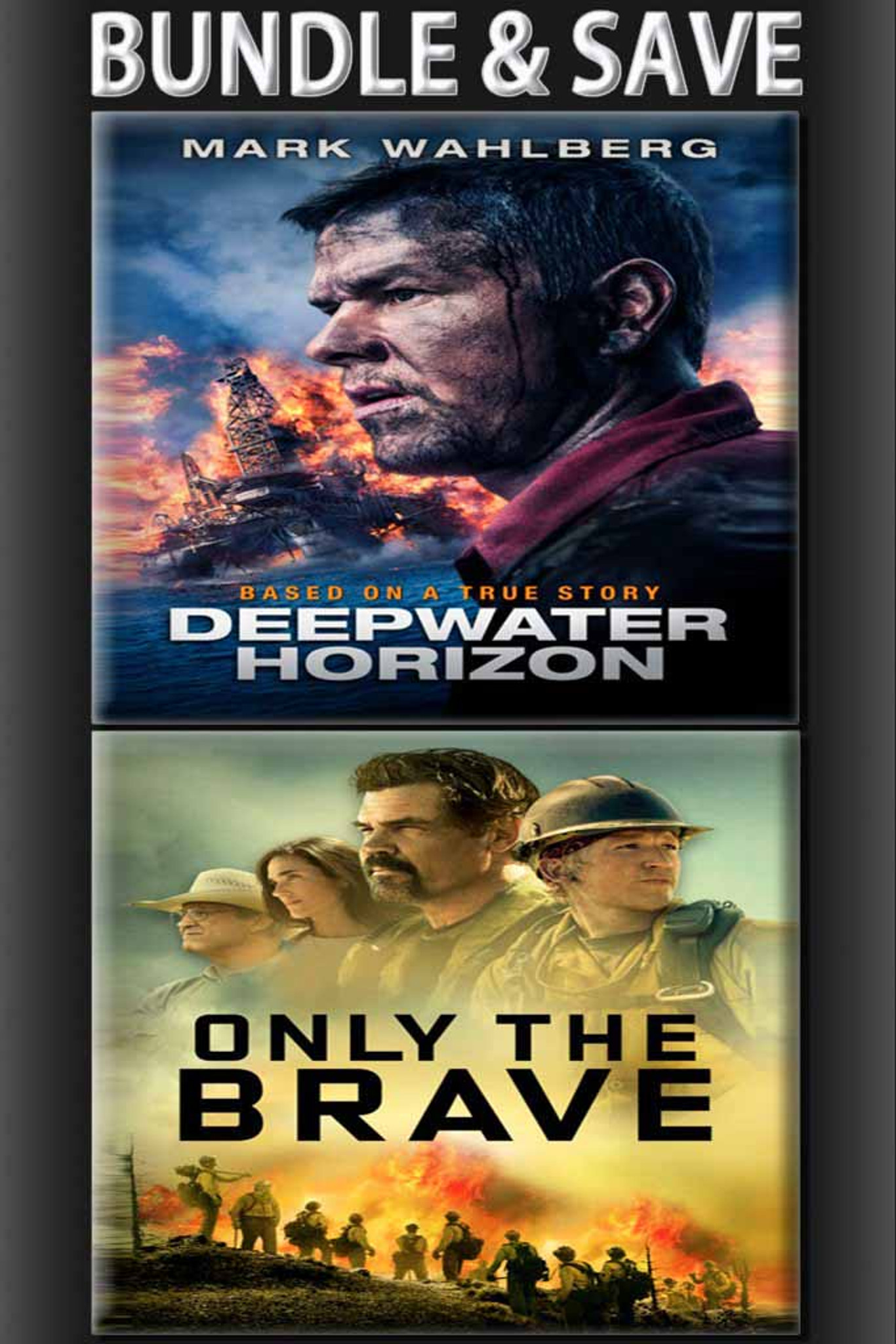 Deepwater Horizon + Only The Brave BUNDLE [Vudu HD]