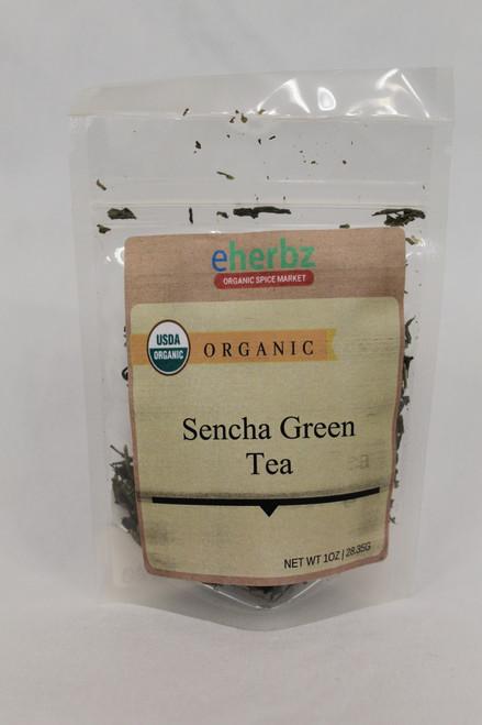 Sencha Green Organic Tea 1oz