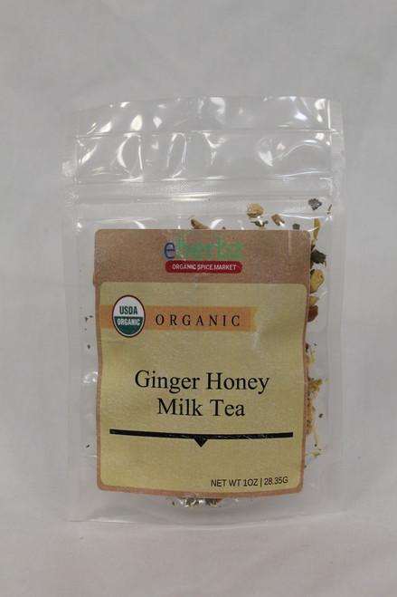 Ginger honey milk Tea