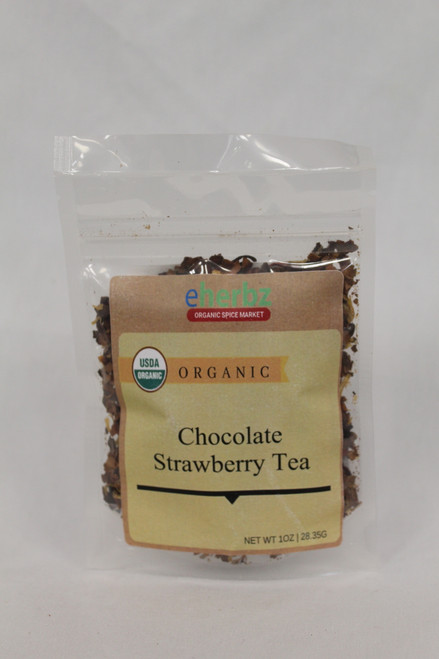 Chocolate Strawberry tea 1oz O DB