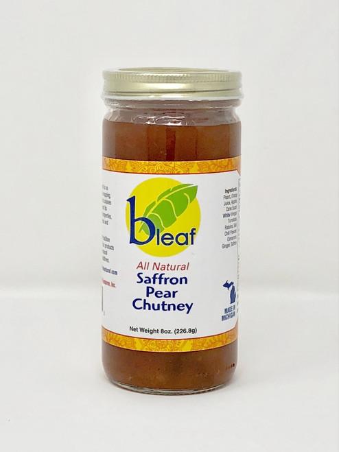 Saffron Pear Chutney
