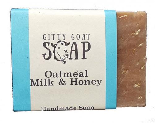 Oatmeal Milk & Honey Goat Soap GGS
