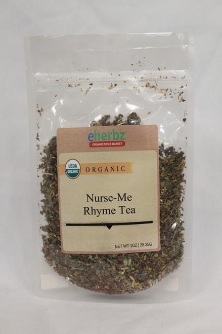 Nurse Me Rhyme tea