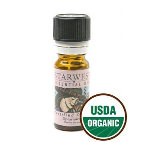 Spearmint Essential Oil Organic 1/3oz SW