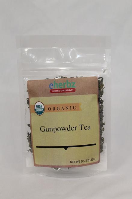 Organic Gun Powder Tea